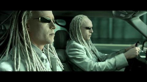 Matrix Car Chase Part